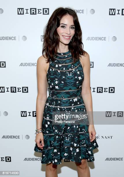 Actress Abigail Spencer of 'Timeless' at 2017 WIRED Cafe at Comic Con presented by ATT Audience Network on July 20 2017 in San Diego California