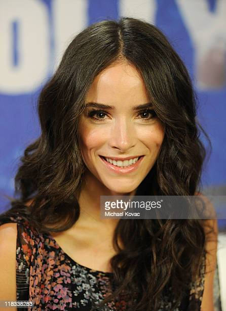 Actress Abigail Spencer visits YoungHollywoodcom at Young Hollywood Studio on July 6 2011 in Los Angeles California