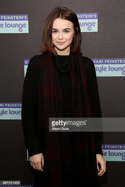 Actress Acacia Brinley attends Kari Feinstein's PreGolden Globes Style Lounge at the Andaz West Hollywood on January 9 2015 in West Hollywood...