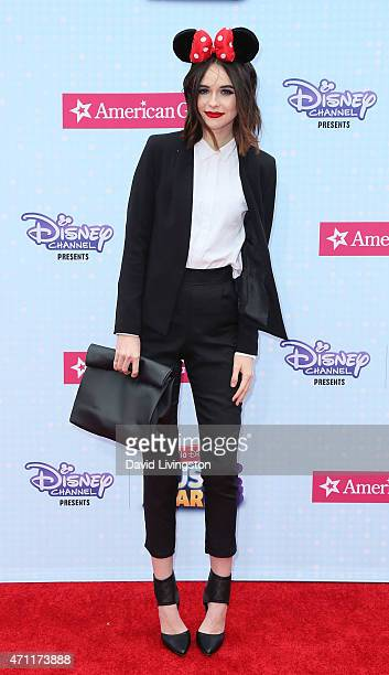 Actress Acacia Brinley attends the 2015 Radio Disney Music Awards at Nokia Theatre LA Live on April 25 2015 in Los Angeles California