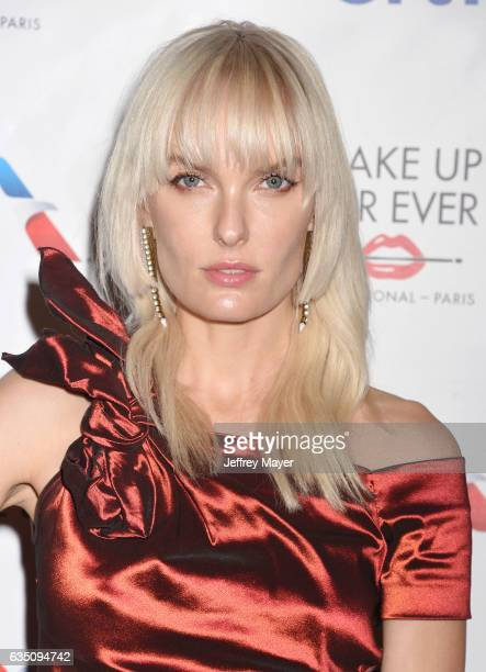 Actress Ace Harper arrives at the Universal Music Group's 2017 GRAMMY After Party at The Theatre at Ace Hotel on February 12, 2017 in Los Angeles,...