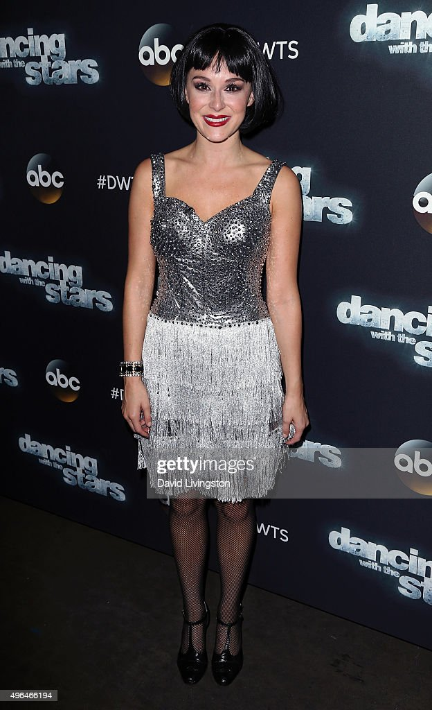 Actress Actress Alexa PenaVega attends 'Dancing with the Stars' Season 21 at CBS Television City on November 9, 2015 in Los Angeles, California.
