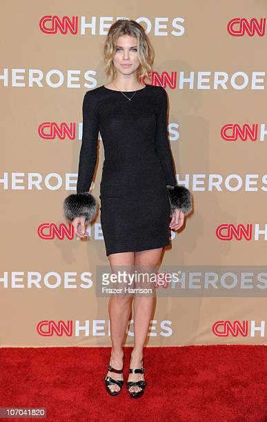Actress Actress AnnaLynne McCord arrives at the 2010 CNN Heroes An AllStar Tribute held at The Shrine Auditorium on November 20 2010 in Los Angeles...