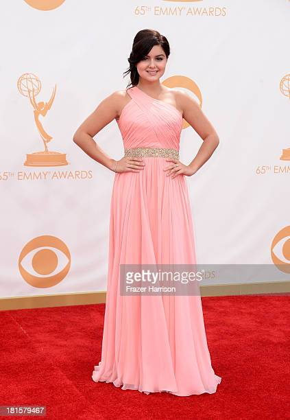 Actress Actress Ariel Winter arrives at the 65th Annual Primetime Emmy Awards held at Nokia Theatre LA Live on September 22 2013 in Los Angeles...