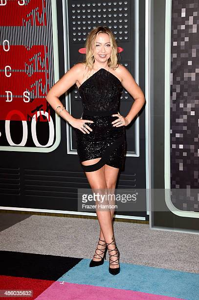 Actress Actress Brandi Glenn Cyrus attends the 2015 MTV Video Music Awards at Microsoft Theater on August 30 2015 in Los Angeles California