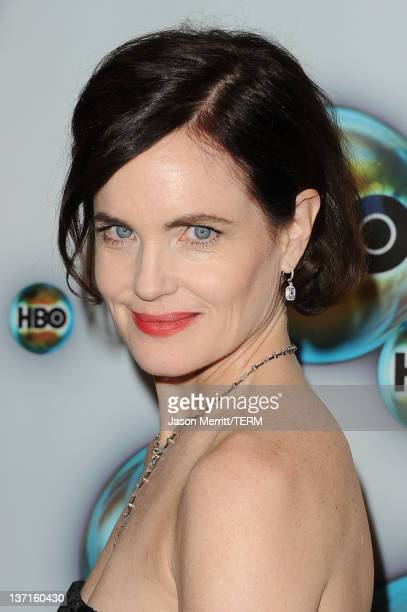 Actress Actress Elizabeth McGovern arrives at HBO's Post 2012 Golden Globe Awards Party at Circa 55 Restaurant on January 15, 2012 in Beverly Hills,...