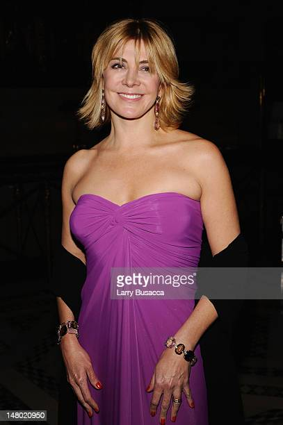 Actress Actress Natasha Richardson attends the amfAR New York Gala at Cipriani on 42nd Street to kick off Fall 2009 Fashion Week on February 12 2009...