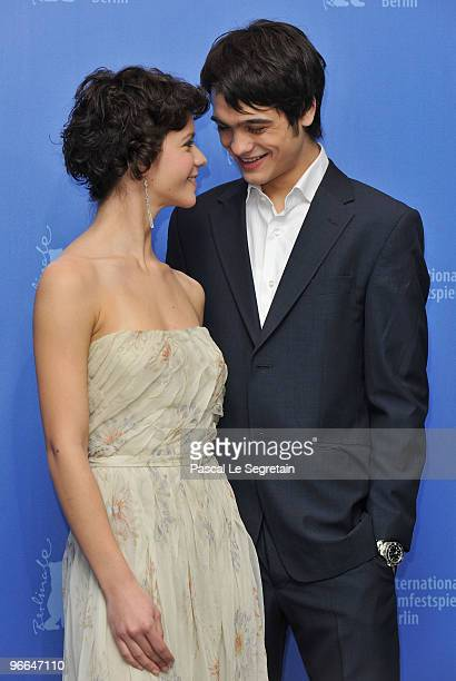 Actress Ada Condeescu and actor George Pistereanu attend the 'Eu Cand Vreau Sa Fluier Fluier' Photocall during day three of the 60th Berlin...