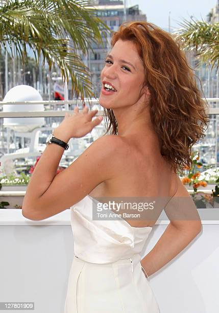 Actress Ada Condeescu attend the Loverboy Photocall during the 64th Cannes Film Festival at the Palais des Festivals on May 18 2011 in Cannes France