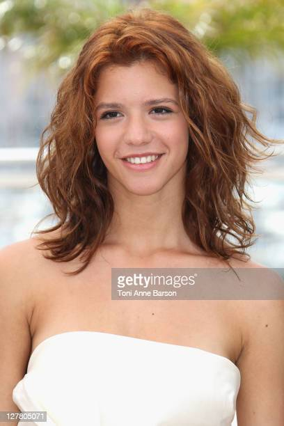 Actress Ada Condeescu attend the 'Loverboy' Photocall during the 64th Cannes Film Festival at the Palais des Festivals on May 18 2011 in Cannes France
