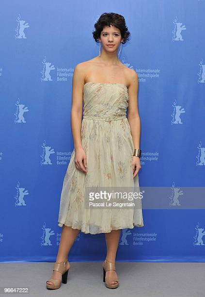 Actress Ada Condeescu attends the 'Eu Cand Vreau Sa Fluier Fluier' Photocall during day three of the 60th Berlin International Film Festival at the...