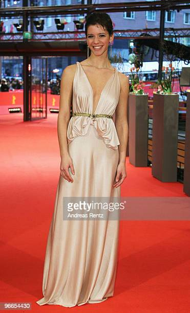 Actress Ada Condeescu attends the 'Eu Cand Vreau Sa Fluier Fluier' Premiere during day three of the 60th Berlin International Film Festival at the...