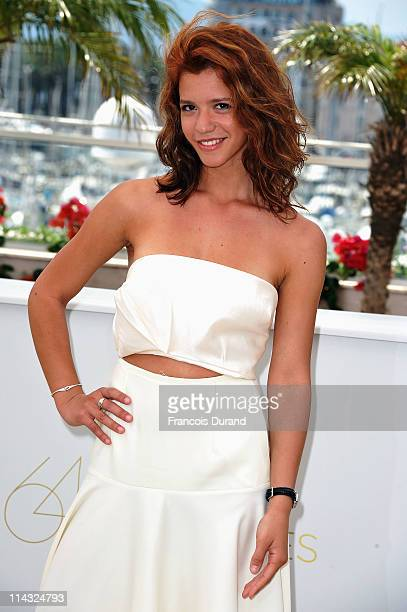 Actress Ada Condeescu attends the 'Loverboy' photocall at the Palais des Festivals during the 64th Cannes Film Festival on May 18 2011 in Cannes...