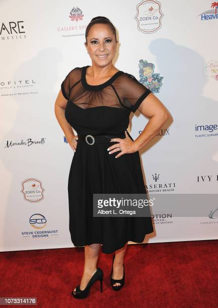 Actress Ada Luz Pla attends the Amare's Second Year Anniversary 'Believe Issue' Party held at Sofitel Los Angeles At Beverly Hills on December 13...