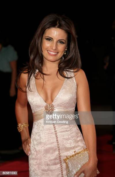 Actress Ada Nicodemou arrives on the red carpet at the 50th Annual TV Week Logie Awards at the Crown Towers Hotel and Casino on May 4 2008 in...