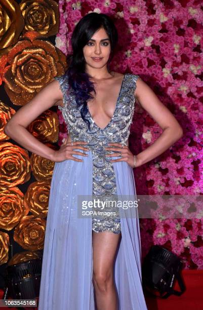 Actress Adah Sharma seen on the red carpet during the LUX GOLDEN ROSE Awards 2018 at the NCSI Dome Worli in Mumbai