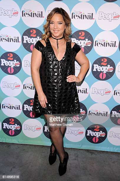 Actress Adamari Lopez attends the 5th Annual Festival PEOPLE En Espanol Day 1 at the Jacob Javitz Center on October 15 2016 in New York City