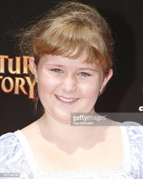 Actress AdaNicole Sanger arrives at the Cartoon Network's world premiere of 'Unnatural History' at Warner Bros Studios on June 12 2010 in Burbank...
