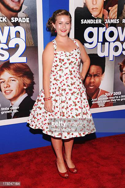 Actress AdaNicole Sanger attends the 'Grown Ups 2' New York Premiere at AMC Lincoln Square Theater on July 10 2013 in New York City