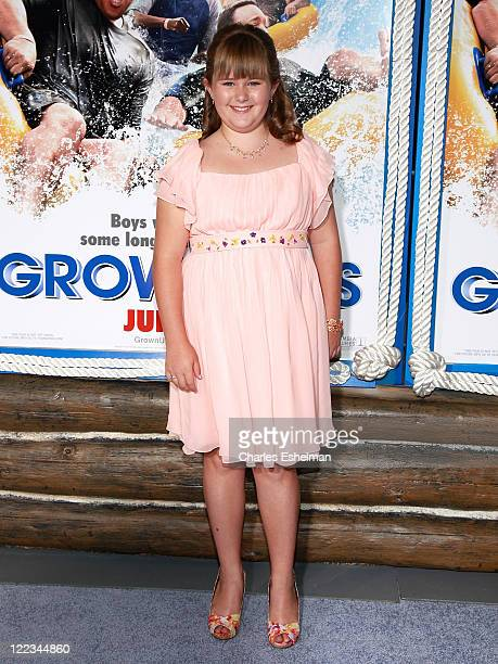 Actress AdaNicole Sanger attends the premiere of 'Grown Ups' at the Ziegfeld Theatre on June 23 2010 in New York City