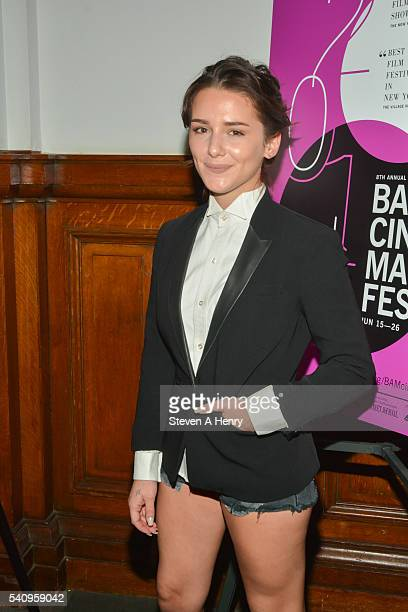 Actress Addison Clark attends the BAMcinemaFest 2016 Little Sister premiere at BAM Rose Cinemas on June 17 2016 in New York City