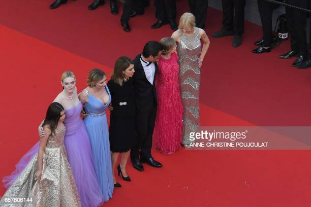 US actress Addison Riecke US actress Elle Fanning US actress Kirsten Dunst US director Sofia Coppola Irish actor Colin Farrell Australian actress...
