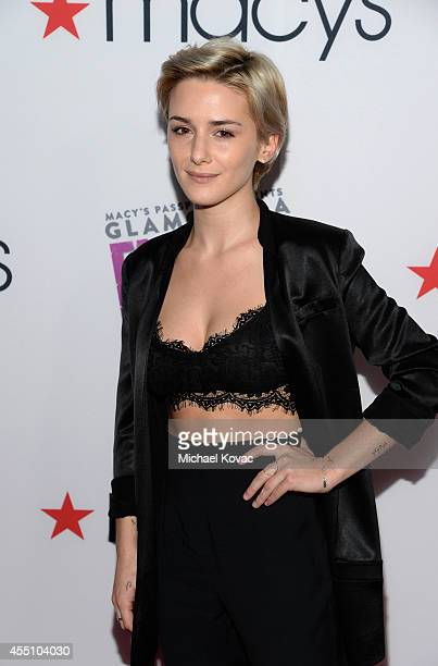 Actress Addison Timlin attends Glamorama Fashion Rocks presented by Macy's Passport at Create Nightclub on September 9 2014 in Los Angeles California