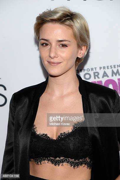 Actress Addison Timlin attends Glamorama 'Fashion Rocks' presented by Macy's Passport at Create Nightclub on September 9 2014 in Los Angeles...