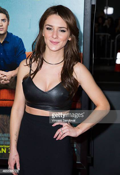 Actress Addison Timlin attends the Los Angeles Premiere of 'That Awkward Moment' at Regal Cinemas LA Live on January 27 2014 in Los Angeles California