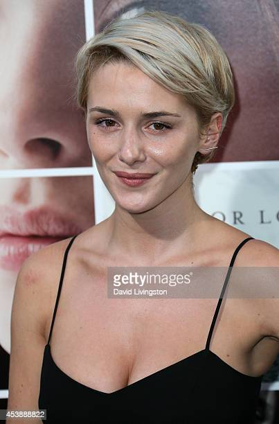 Actress Addison Timlin attends the premiere of New Line Cinema's and MetroGoldwynMayer Pictures' 'If I Stay' at the TCL Chinese Theatre on August 20...