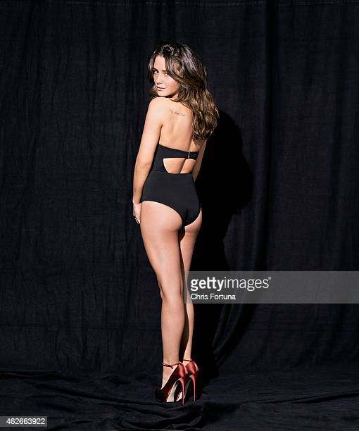 Actress Addison Timlin is photographed for Esquire Magazine on February 27 2013 in Los Angeles California