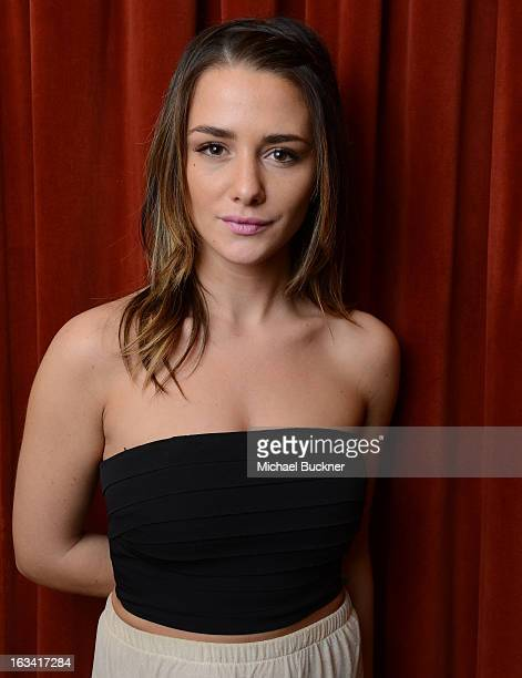 Actress Addison Timlin poses for a portrait at the photo op for The Bounceback during the 2013 SXSW Music Film Interactive Festival at The Paramount...