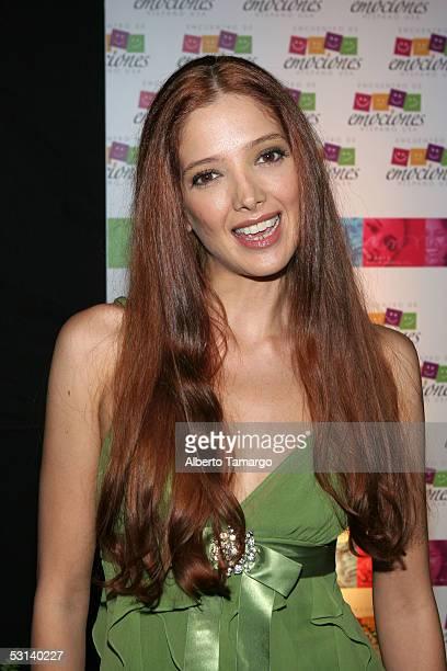 Actress Adela Noriega at Encuentro Emociones At The Mandarin Oriental Hotel on June 22 2005 in Miami Florida