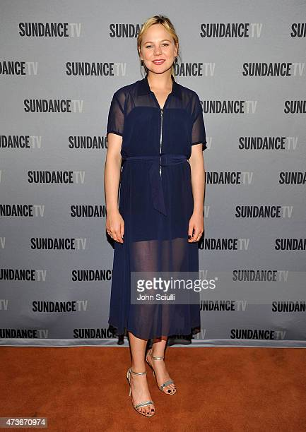 Actress Adelaide Clemens attends SundanceTV's presentation of panel discussions featuring creators and stars of 'Rectify' and 'The Honorable Woman'...