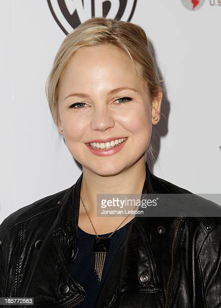Actress Adelaide Clemens attends the 2nd Annual Australians in Film Awards Gala at Intercontinental Hotel on October 24 2013 in Beverly Hills...