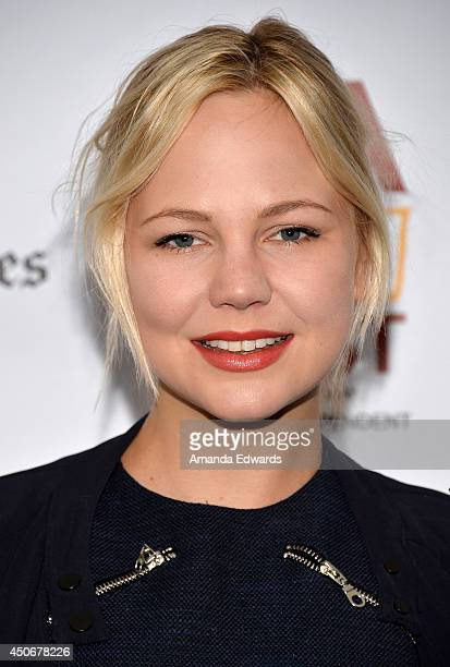Actress Adelaide Clemens attends the premiere of Holbrook/Twain An American Odyssey during the 2014 Los Angeles Film Festival at Regal Cinemas LA...