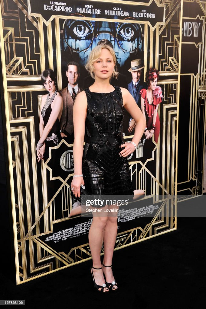 Actress Adelaide Clemens attends the 'The Great Gatsby' world premiere at Avery Fisher Hall at Lincoln Center for the Performing Arts on May 1, 2013 in New York City.