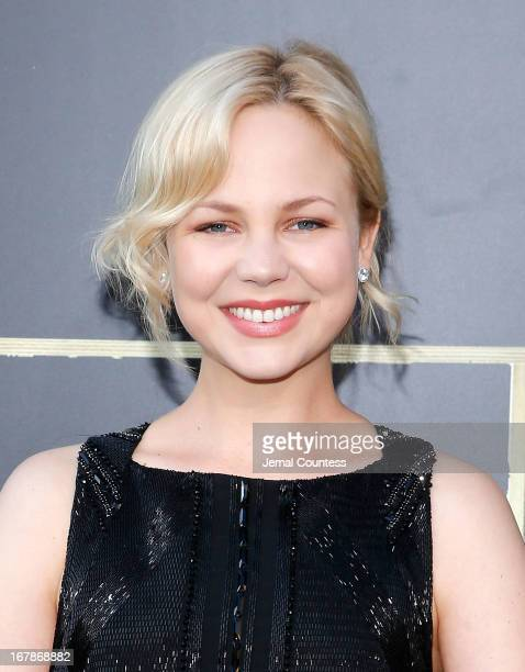Actress Adelaide Clemens attends the The Great Gatsby world premiere at Avery Fisher Hall at Lincoln Center for the Performing Arts on May 1 2013 in...