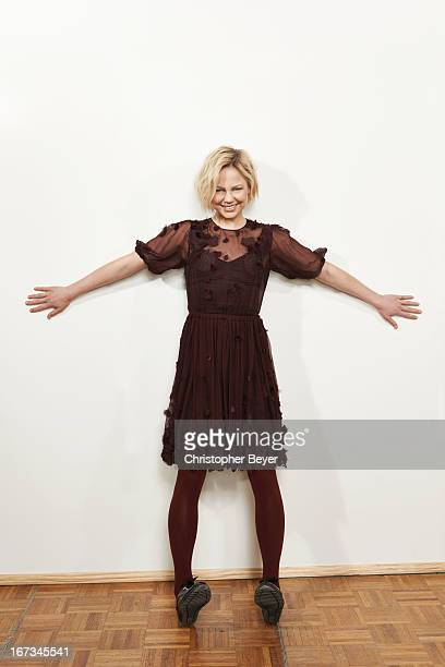 Actress Adelaide Clemens is photographed at the Sundance Film Festival for Entertainment Weekly Magazine on January 19 2013 in Park City Utah
