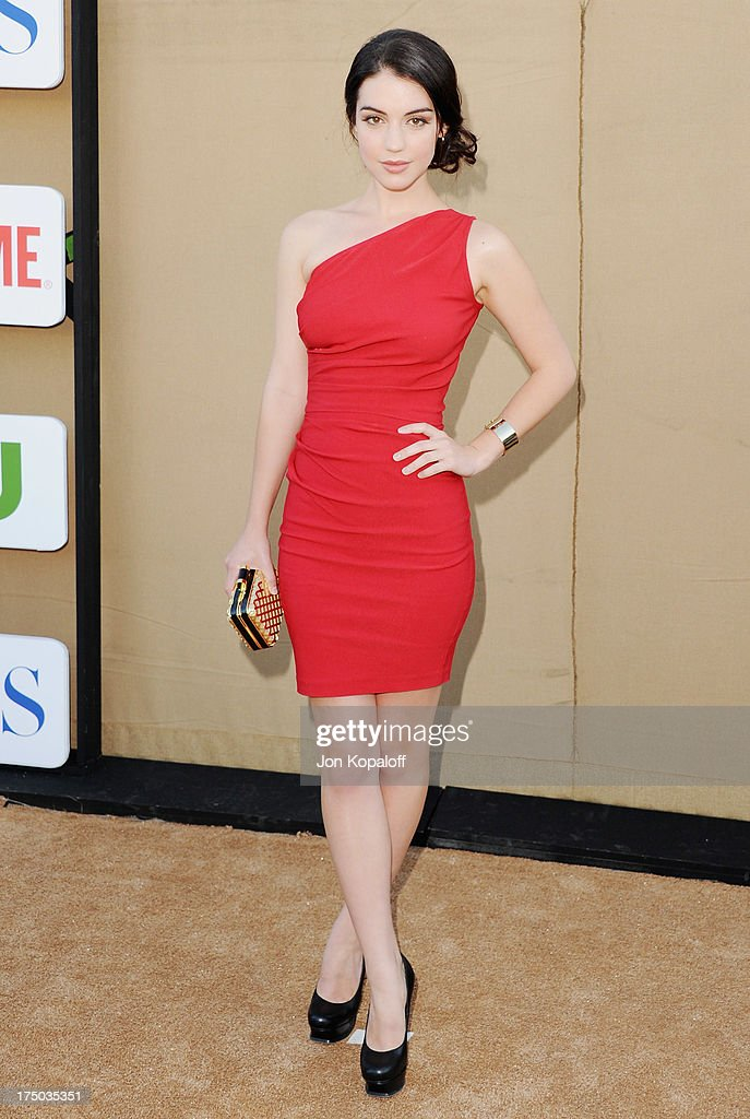 Actress Adelaide Kane arrives at the 2013 Television Critic Association's Summer Press Tour - CBS, The CW, Showtime Party at The Beverly Hilton Hotel on July 29, 2013 in Beverly Hills, California.
