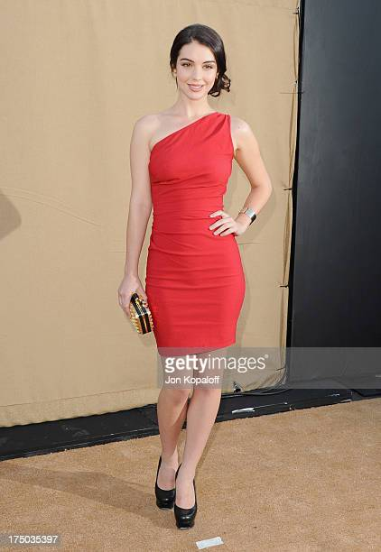 Actress Adelaide Kane arrives at the 2013 Television Critic Association's Summer Press Tour CBS The CW Showtime Party at The Beverly Hilton Hotel on...