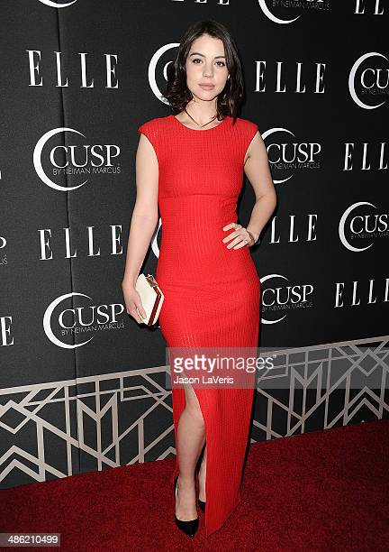 Actress Adelaide Kane attends ELLE's 5th annual Women In Music concert celebration at Avalon on April 22 2014 in Hollywood California