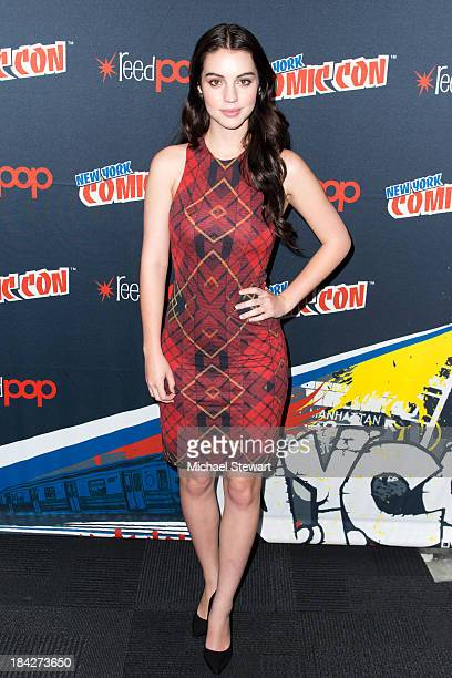 Actress Adelaide Kane attends New York Comic Con 2013 at Jacob Javits Center on October 12 2013 in New York City