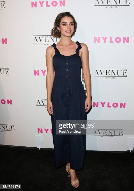 Actress Adelaide Kane attends NYLON's annual Young Hollywood May issue event with cover Star Rowan Blanchard at Avenue on May 2 2017 in Los Angeles...