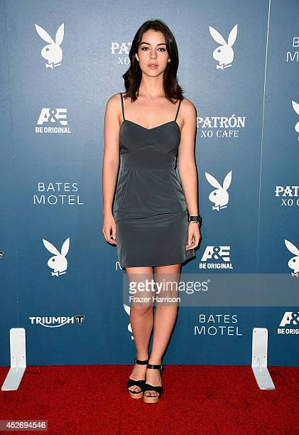 Actress Adelaide Kane attends Playboy and AE 'Bates Motel' Event during ComicCon International 2014 on July 25 2014 in San Diego California