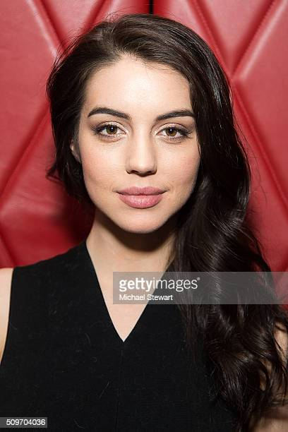 Actress Adelaide Kane attends the Natalie Zfat's NYFW Dinner at Lamb's Club on February 11 2016 in New York City