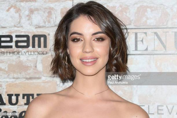 Actress Adelaide Kane attends the TAO Beauty and Essex Avenue and Luchini LA Grand Opening on March 16 2017 in Los Angeles California