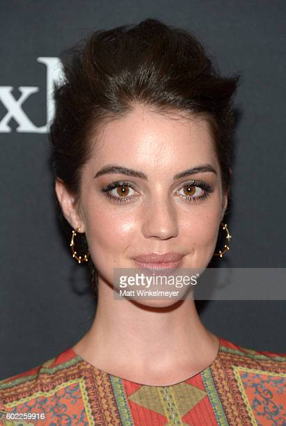 Actress Adelaide Kane attends the TIFF/InStyle/HFPA Party during the 2016 Toronto International Film Festival at Windsor Arms Hotel on September 10...