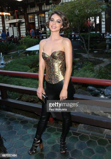 Actress Adelaide Kane attends the Wolk Morais Collection 5 Fashion Show at Yamashiro Hollywood on May 22 2017 in Los Angeles California