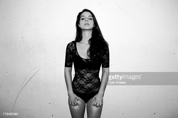 Actress Adelaide Kane is photographed for Self Assignment on July 29 2012 in Los Angeles California